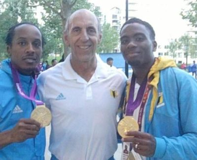 2012 Chris Dr Claussen Mike and the 2012 Gold Medals
