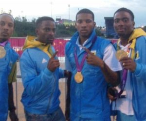 2012 Dr Claussen Bahamas Gold Medal Mens 4x400