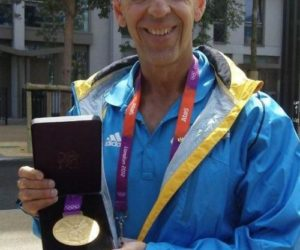 2012 Dr Claussen London Olympic Gold Medal Team Doctor - Bahamas