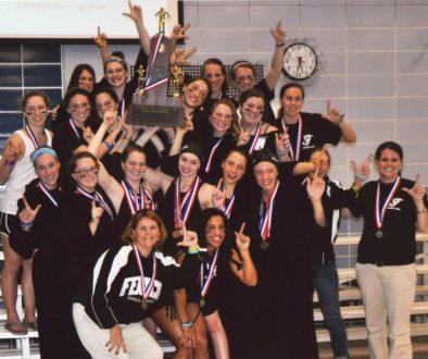 Fenwick Friars Girls Swimiming Illinois State Runner Up 2011