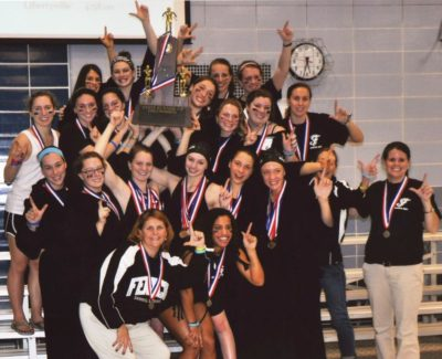 Fenwick Friars Girls Swimiming Illinois State Runner Up 2011