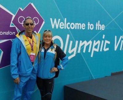 OAK 2012 Dr Claussen and Nancy London Olympics