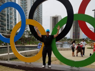 Oak Brook Chiropractor Dr. Philip Claussen Olympics Rio 16 rings