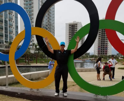 Oak Brook Chiropractor Dr. Philip Claussen Olympics Rio 16 rings