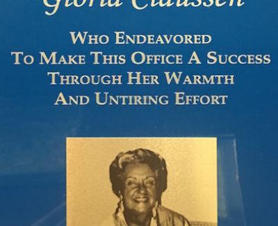 Oak Brook Chiropractic Dedication Gloria
